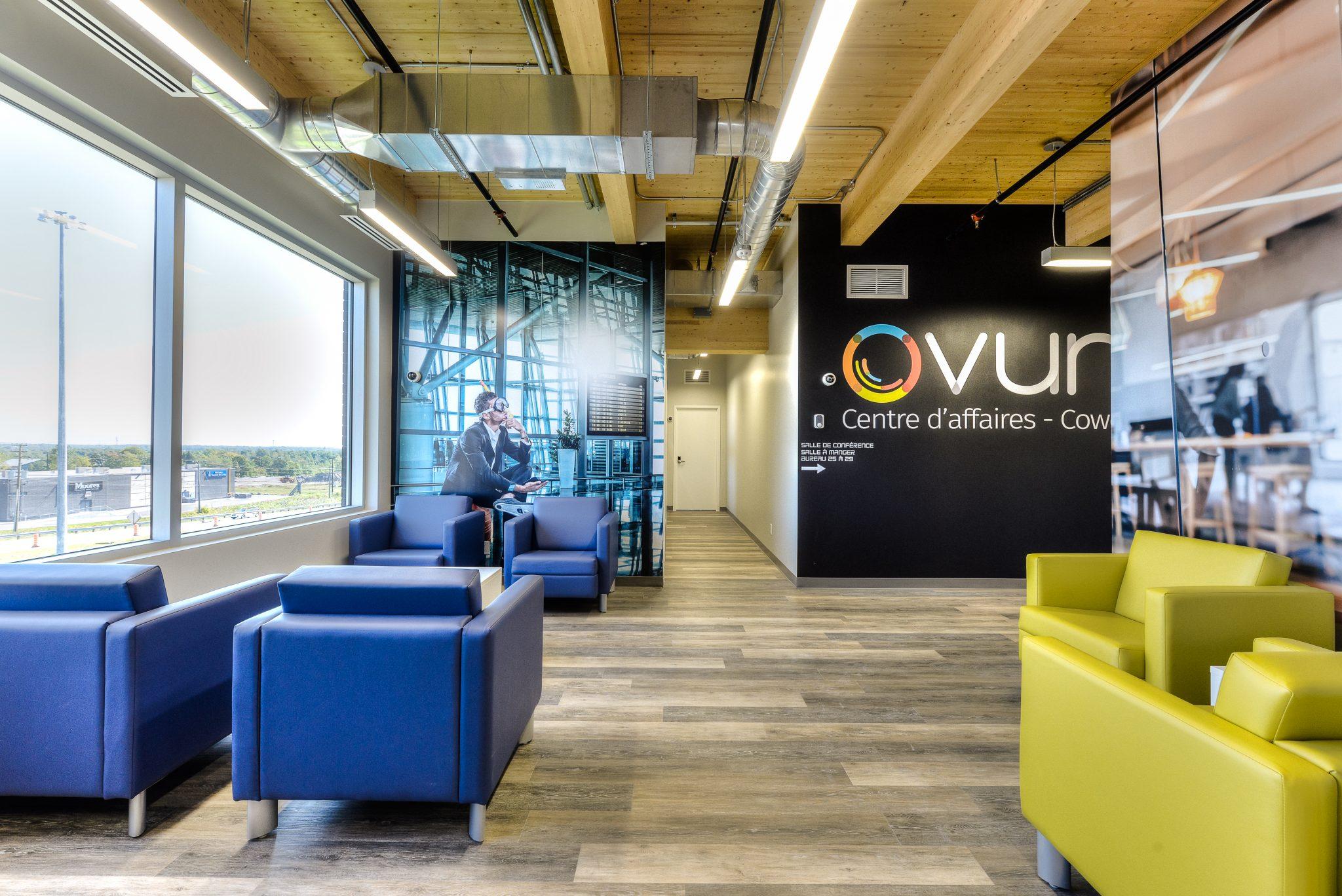 Accueil - Centre Ovum | Bureaux locatifs a Mirabel