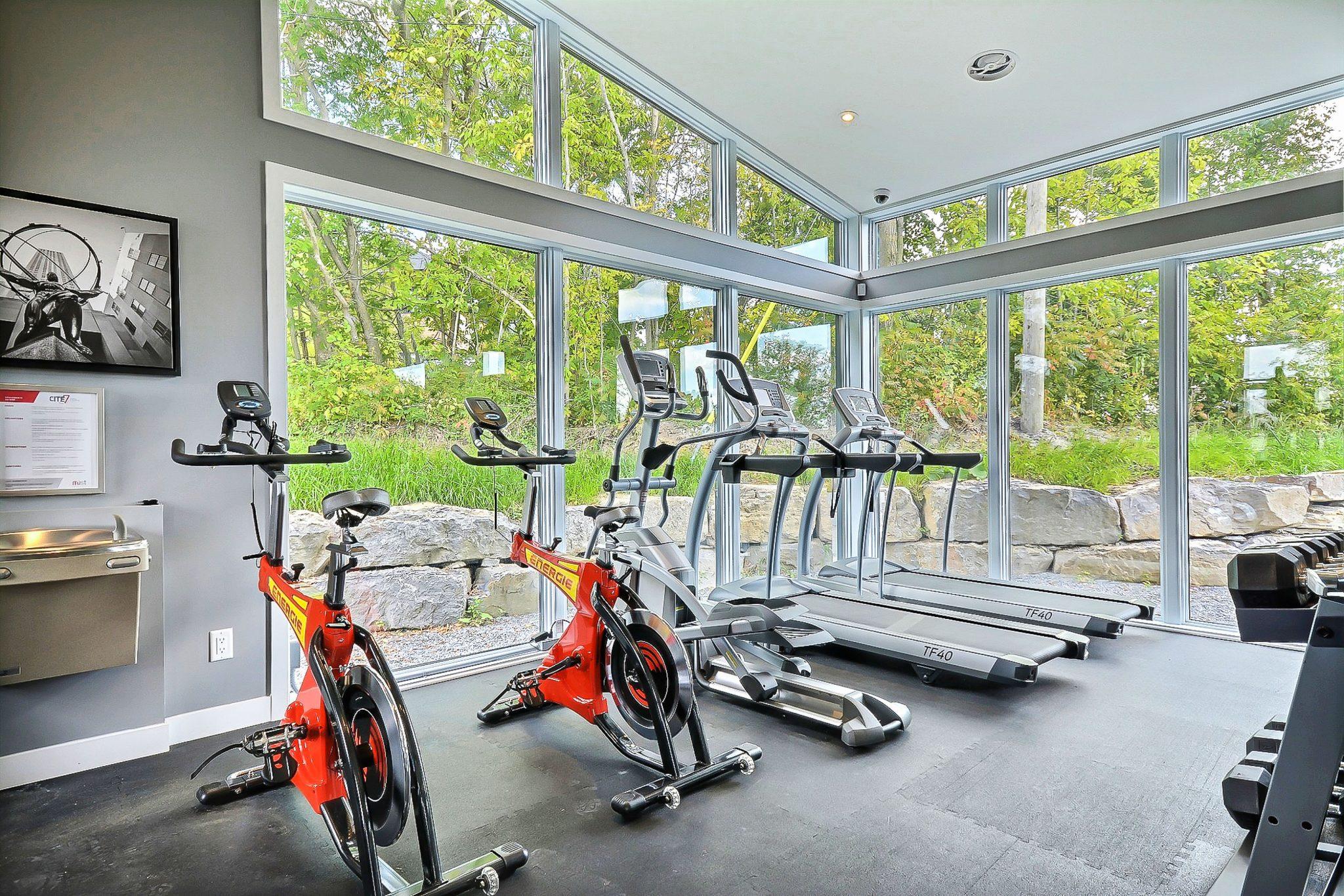 Notre espace gym - Projet de condos neufs a Mirabel
